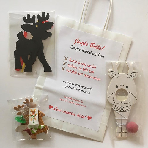 Jingle Bells! Christmas Craft Bag