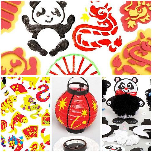 Chinese New Year Craft Pack