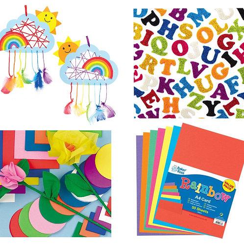Rainbow Craft Pack