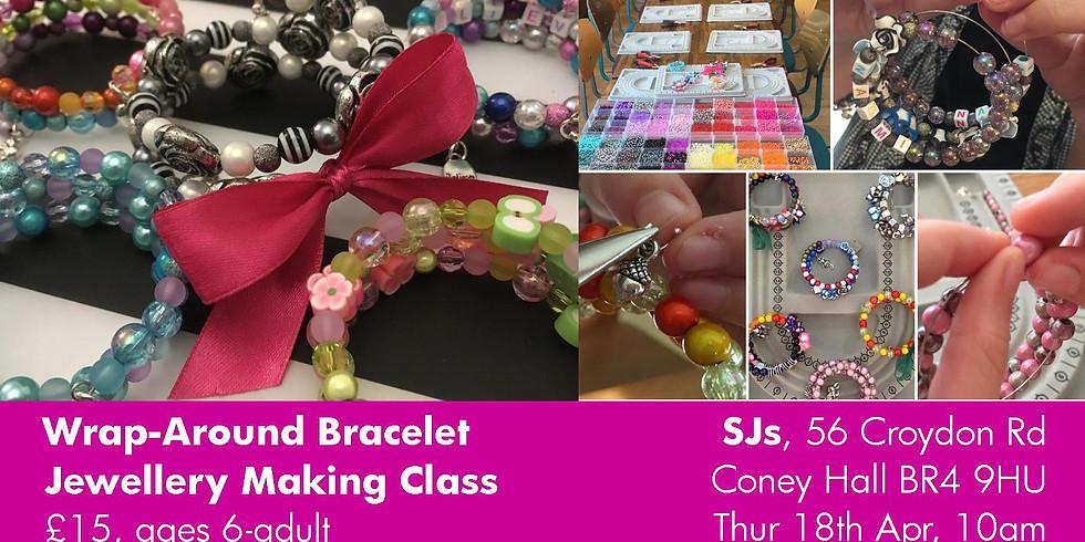 Wrap-Around Bracelet Making Class