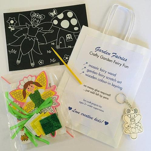Garden Fairies Craft Bag
