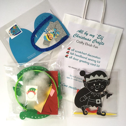 All by my Elf Christmas Craft Bag