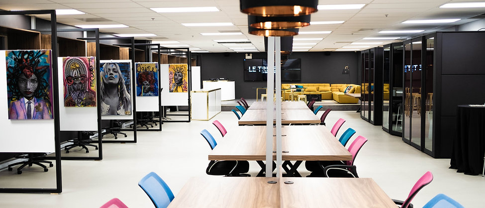 Le Tribe Coworking space in montreal