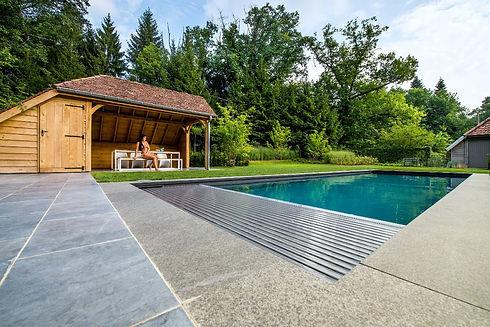 Lamellen zelfbouwzwembad   OPUS Zwembade