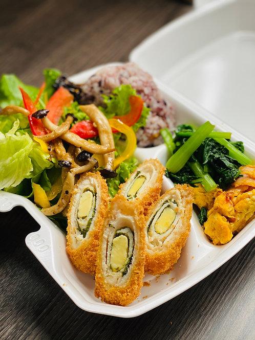 MEAT & VEGETABLES  DELI #03   チキンと大葉のチーズフライ