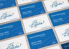 Cartões de visita Tá Ligado?