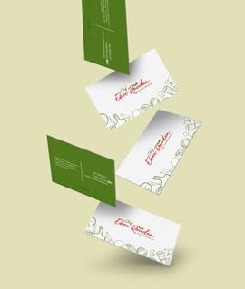 Cartão de Visitas Eber Rouden
