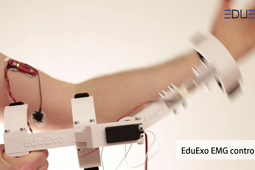 EduExo (box) with EMG extension.