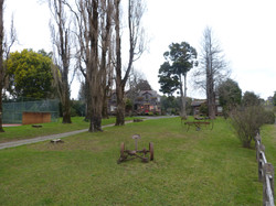 Jardín - Cabañas Lahuel