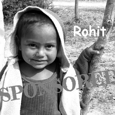 Rohit is Sponsored