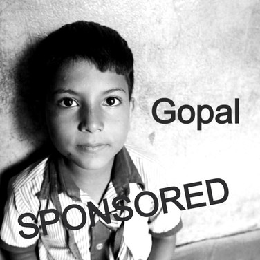 Gopal is now sponsored