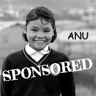 Anu is sponsored