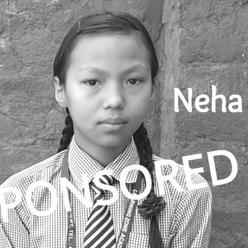 Neha is Sponsored