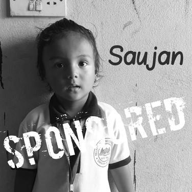Saujan is Sponsored