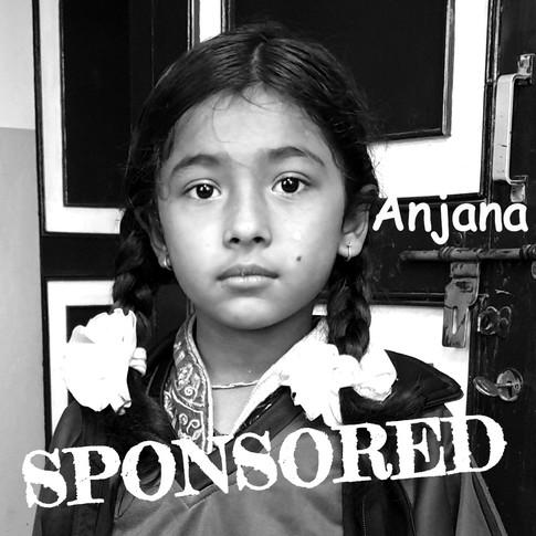 Anjana is sponsored