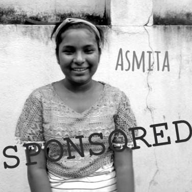 Asmita is sponsored