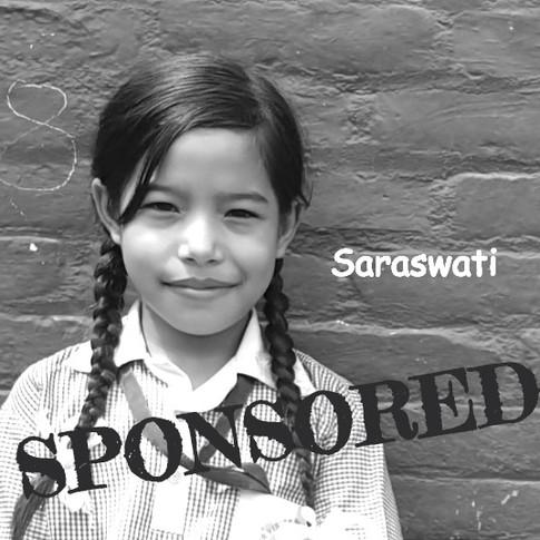 Saraswati is Sponsored