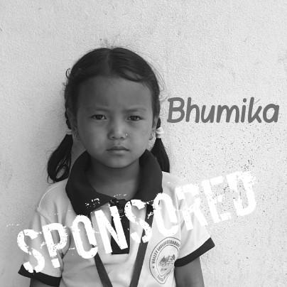 Bhumika is sponsored