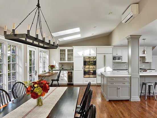swarthmore custom home design philadelphia architect victorian house addition kitchen renovation Delaware county wallingford