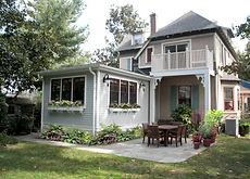 Juliet Koczak Architect.  Swarthmore, PA victorian house addition residence architect kitchen renovation