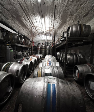 One of our cellars being prepared