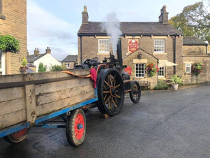 The annual visit from the steam engine!