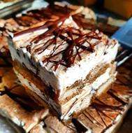 Boozy chocolate tiramisu. Overs 18s only!