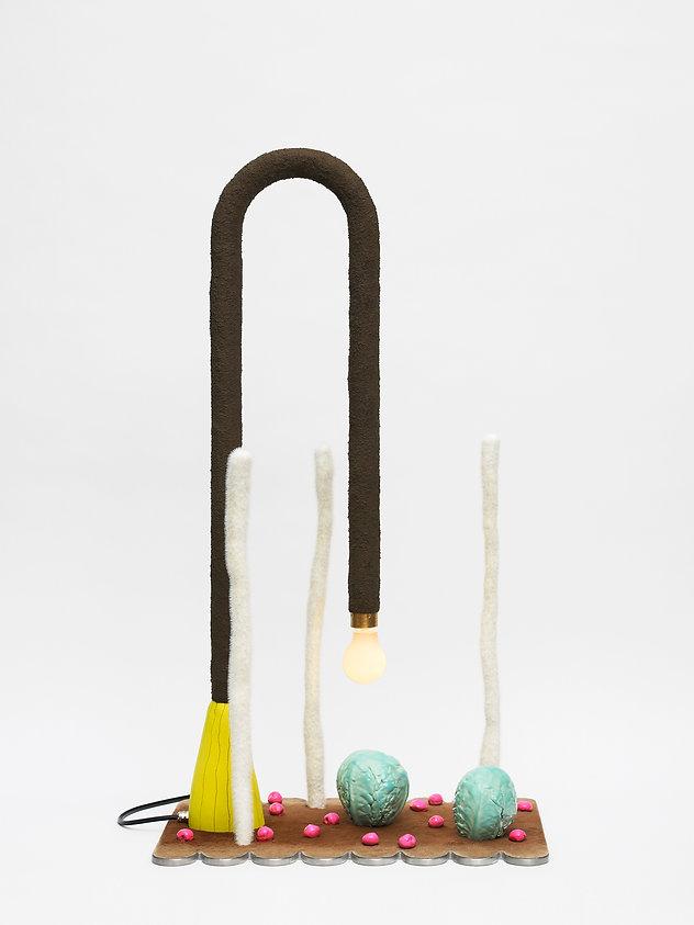 Illovo Lamp sculpture bronze light lamp Whitechapel Gallery London Open exhibition