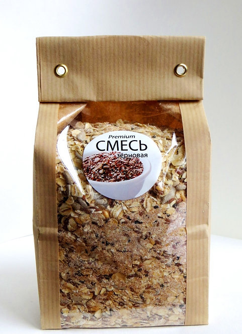 Мульти-смесь зерновая для хлебопечения 500г