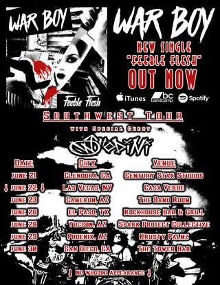 Tour/Feeble Flesh Poster