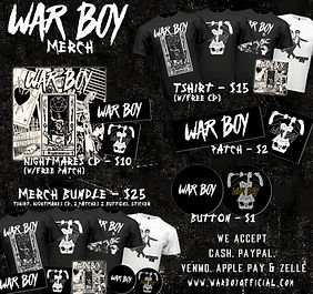 War Boy Merchandise