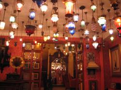 Paula Cullison - Turkey Istanbul - Kybele Hotel lights2007 008.jpg