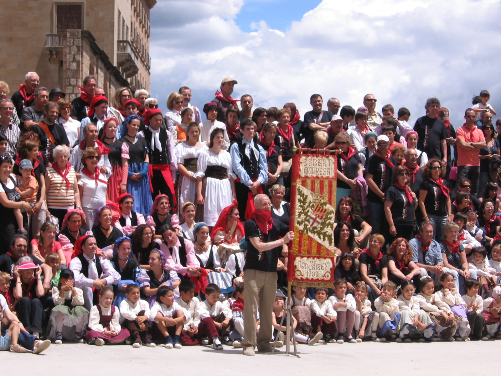 Spain Montserrat Catalonian fest  2009 366.jpg