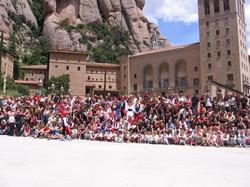 Spain Montserrat Catalonian fest 2009 360.jpg