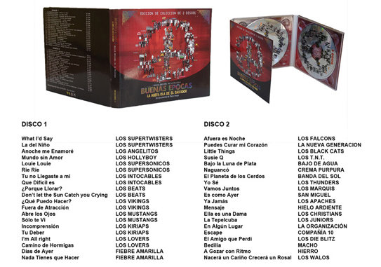 "BUENAS EPOCAS 2-CD SOUNDTRACK ""COLLECTORS EDITION"""