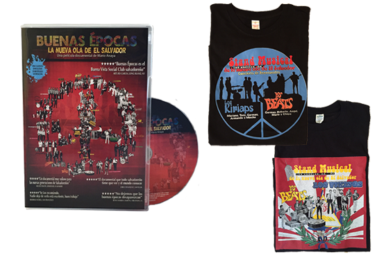BUENAS EPOCAS DVD WITH A COLLECTOR'S T-SHIRT