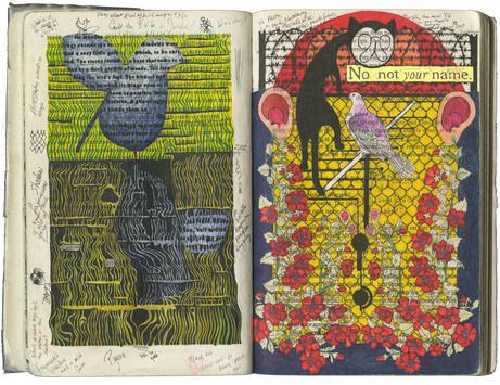 Azaleas and Fragmented Shadow, pgs 14-15