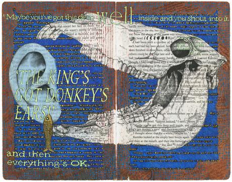 The King's Got Donkey's Ears, pgs 28-29