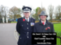 Chief Constable Simon Cole & Cllr David