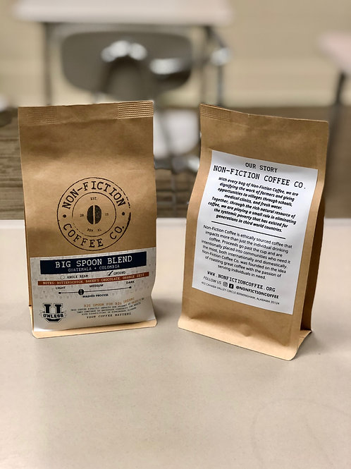 4oz Bags - Non-Fiction Coffee - Big Spoon Blend