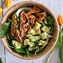 Chicken Tikka and Avocado Salad