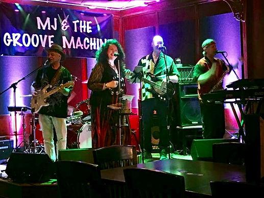 Live Music - MJ & THE GROOVE MACHINE
