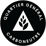 QG Carboneutre - Noir avec contour blanc