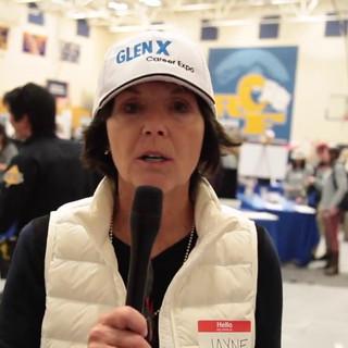 GlenX Career Expo Director Jayne Poss