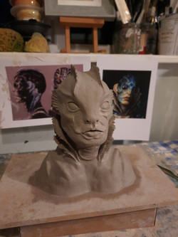 The Shape of Water Sculpt
