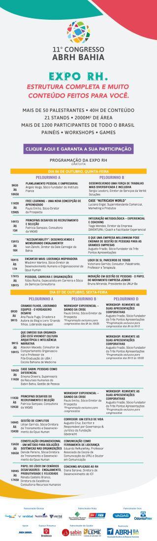 Palestras Gratuitas: 11º Congresso ABRH