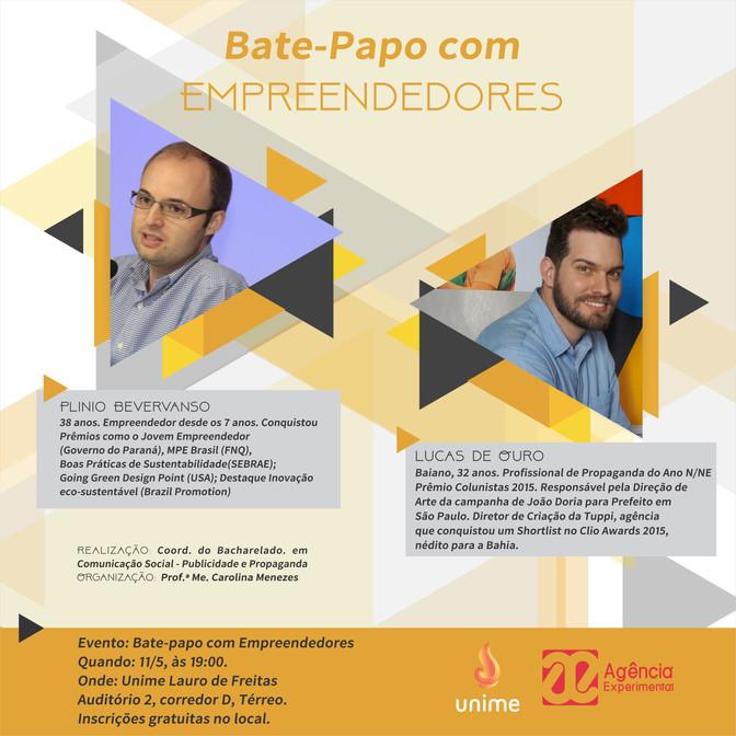 Bate-Papo com Empreendedores na UNIME - Lauro de Freitas