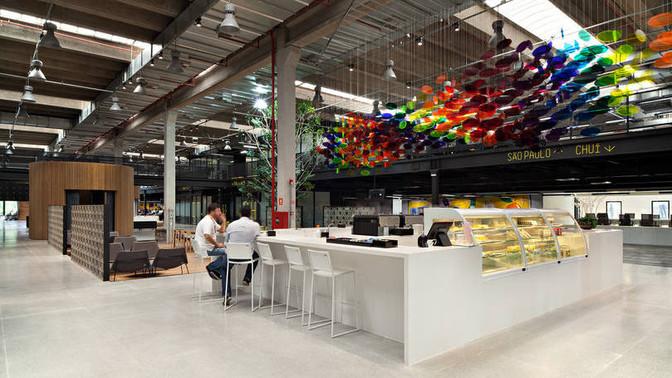 Nova sede do Mercado Livre em São Paulo