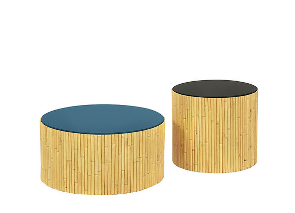 Duo de Tables Basses Riviera