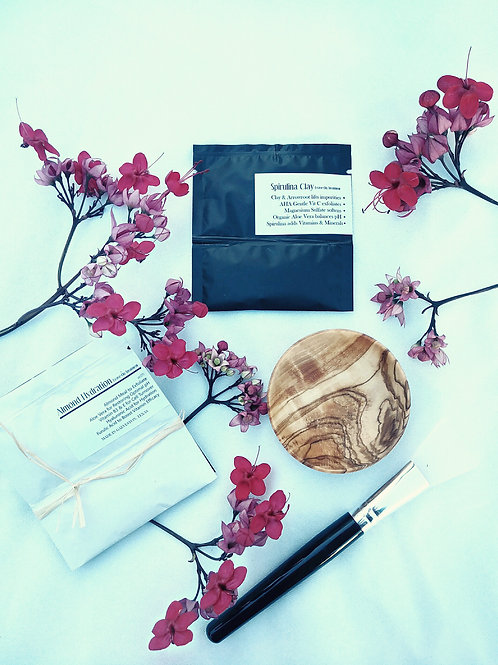 Face Mask with Bowl Gift Set